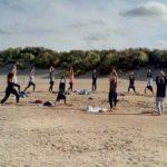 yoga op het strand 1